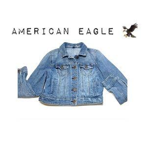 American Eagle Outfitters Jackets & Coats - American Eagle Light wash denim jacket